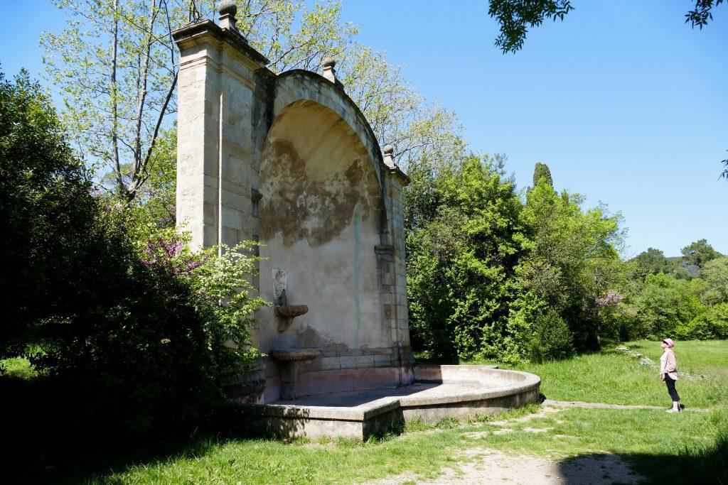 Ancienne fontaine de Villeneuvette - Hérault