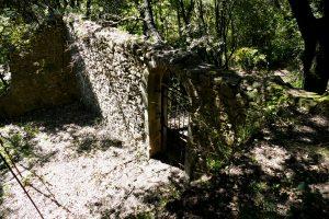 Ruine de maison à Villeneuvette - Hérault
