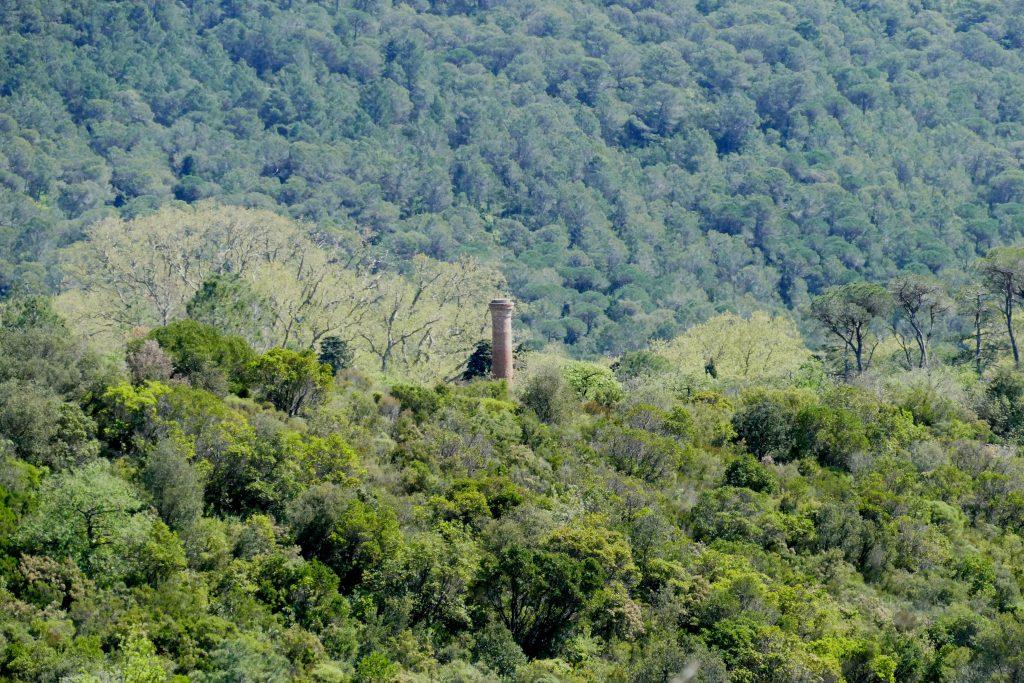 cheminée de Villeneuvette - Hérault