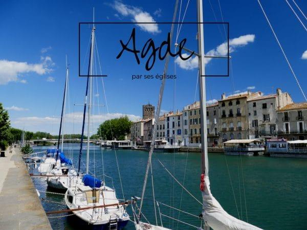 Agde, sur les rives de l'Hérault