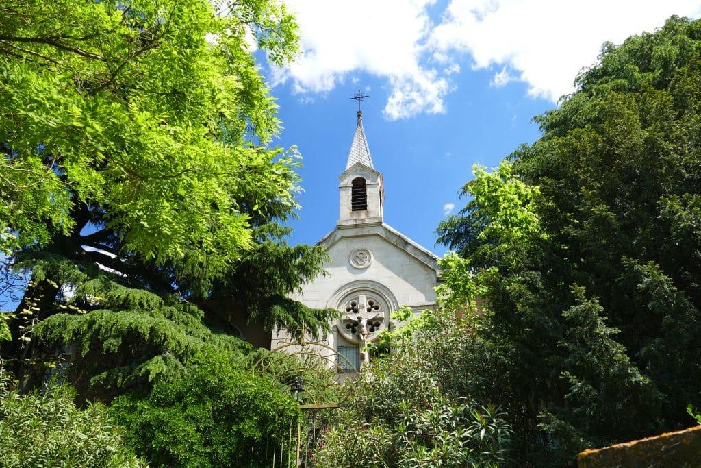 fronton d'église / Agde