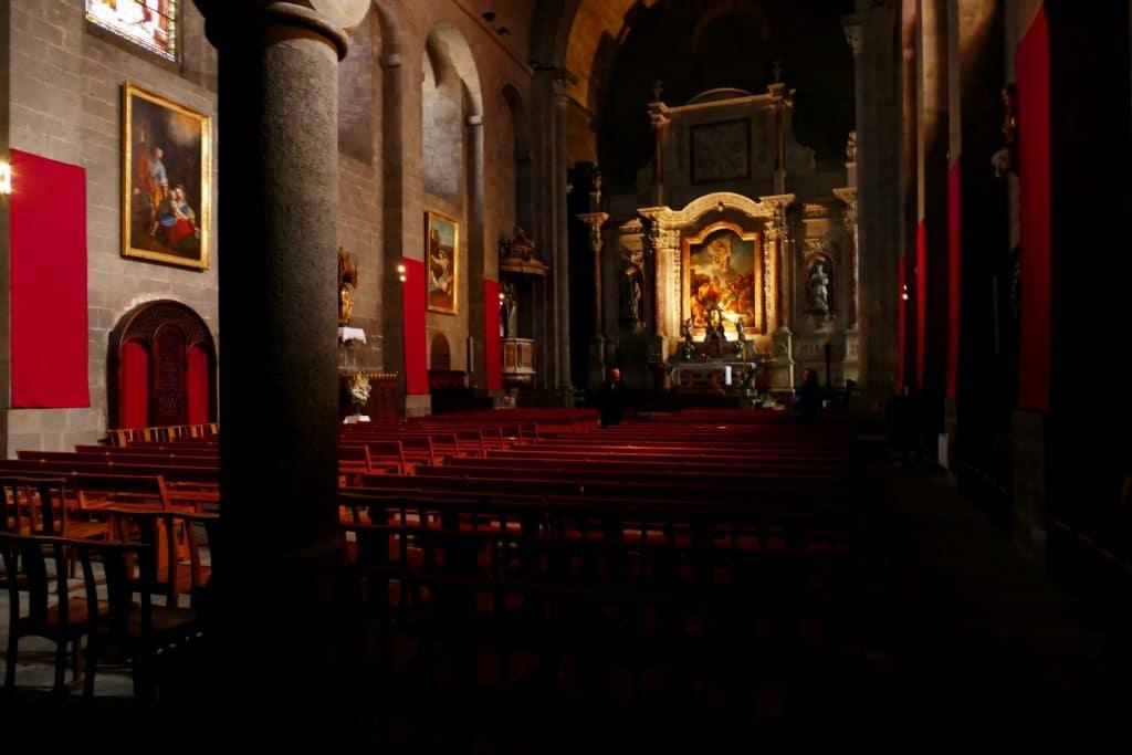 nef de la cathédrale Saint-Etienne / Agde