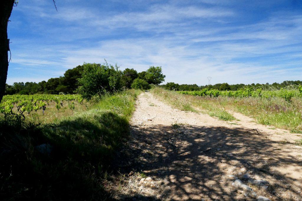 la Via Domitia à Pinet
