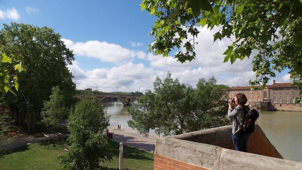 Fish & Child sur les quais de la Daurade à Toulouse