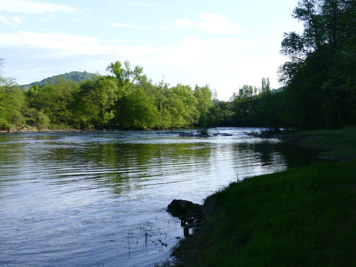 la Dordogne à Monceau-sur-Dordogne