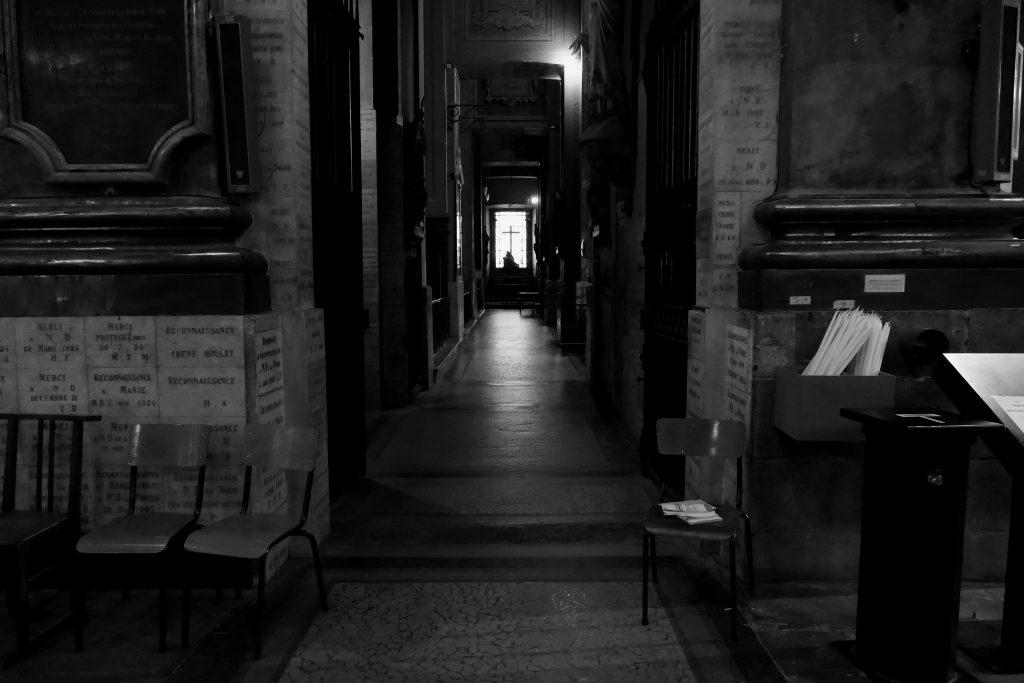 intérieur de l'église de la Daurade - Toulouse