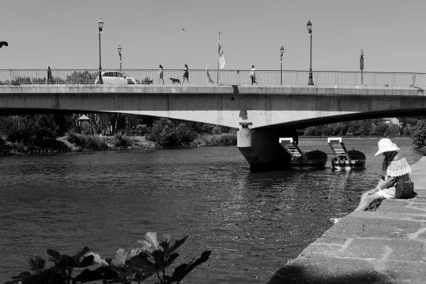 Bord de l'Hérault à Agde