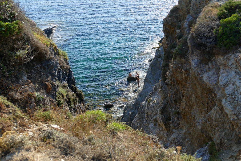 Le sentier du littoral sur la Presqu'île de Giens