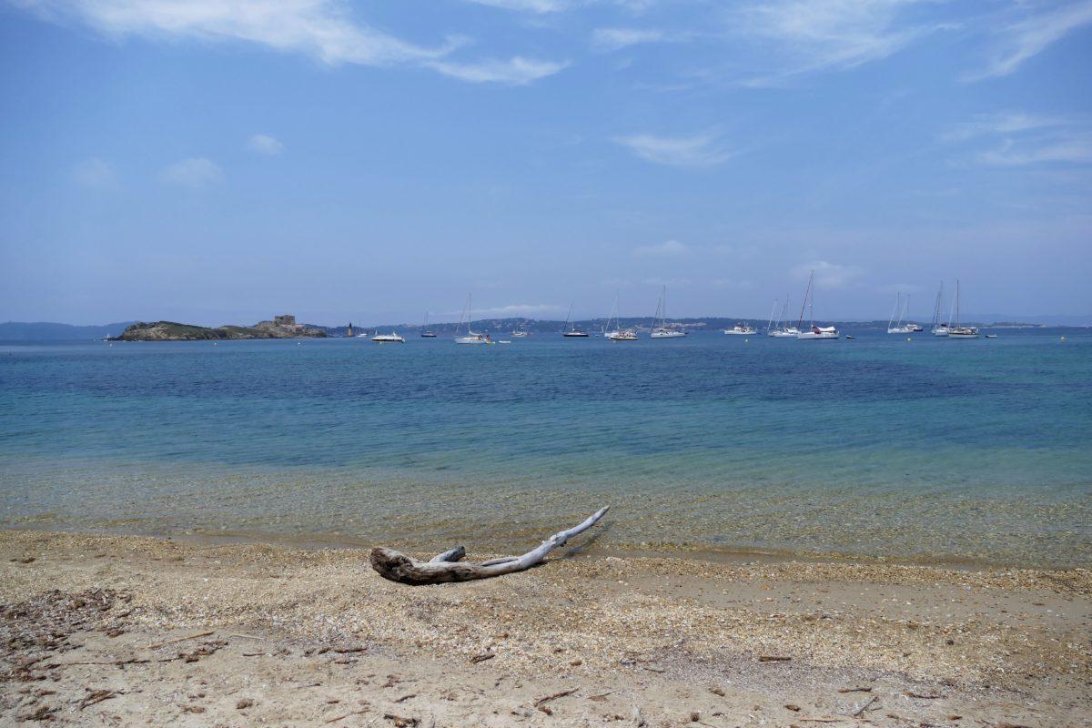 plage Pointe du Grand Langoustier, Porquerolles