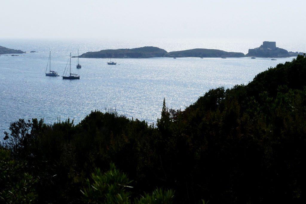 panorama depuis Porquerolles