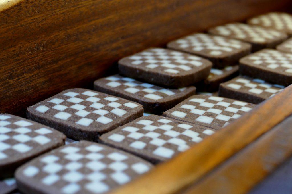 sablé vanille-chocolat