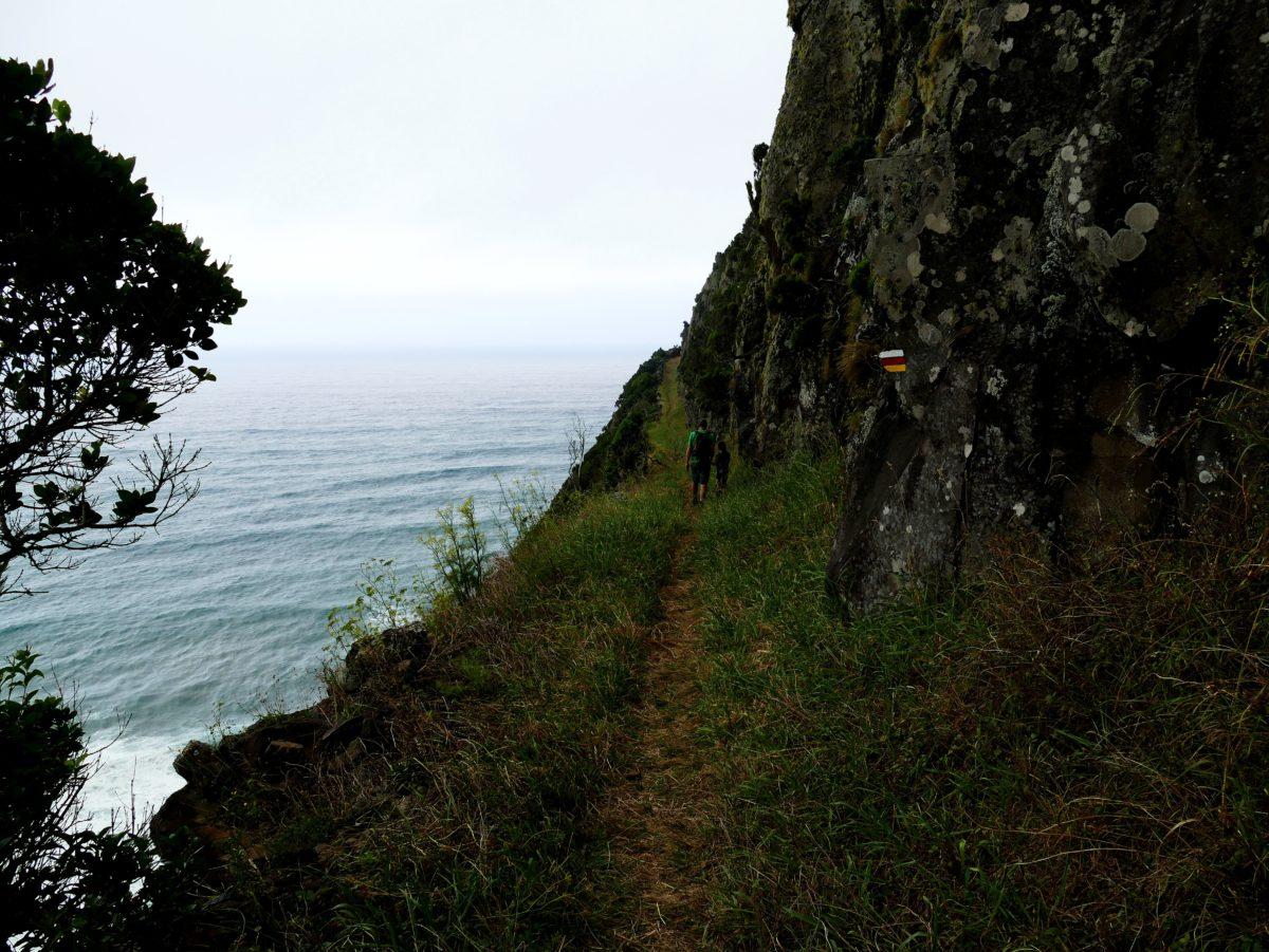 sentier de randonnée Faja Grande