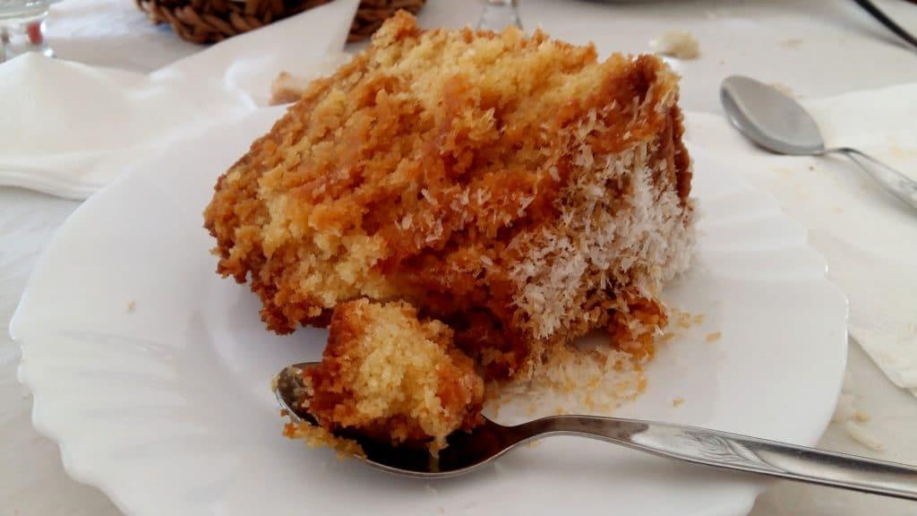 gâteau ananas -noix de coco