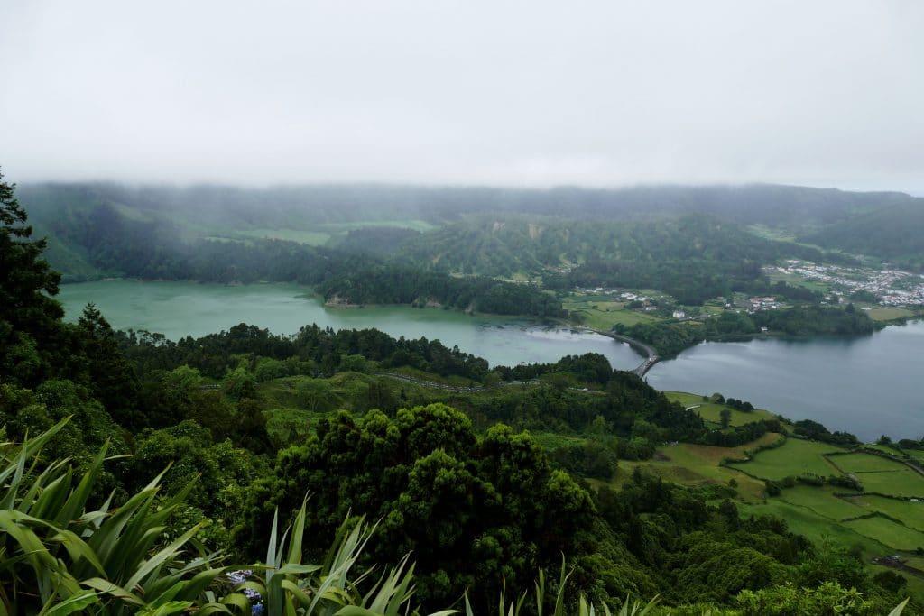 Sete Cidades dans la brume - Sao Miguel (Açores)