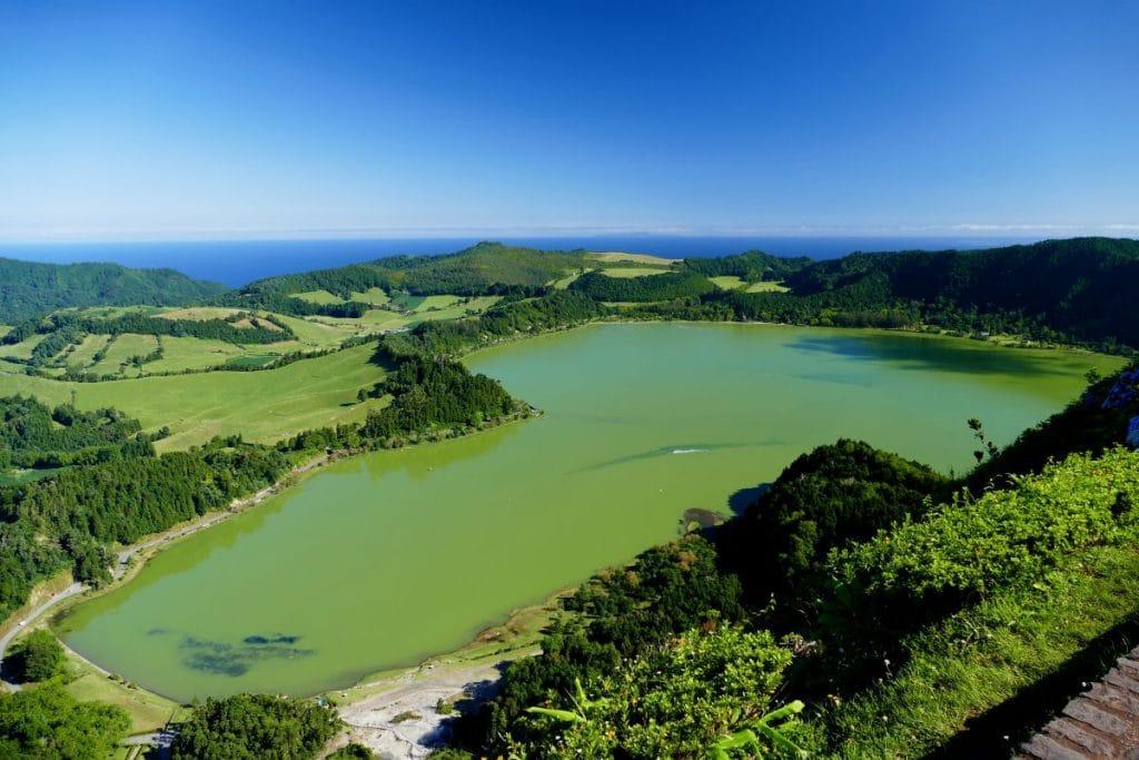 Lac de Furnas sur Sao Miguel (Açores)
