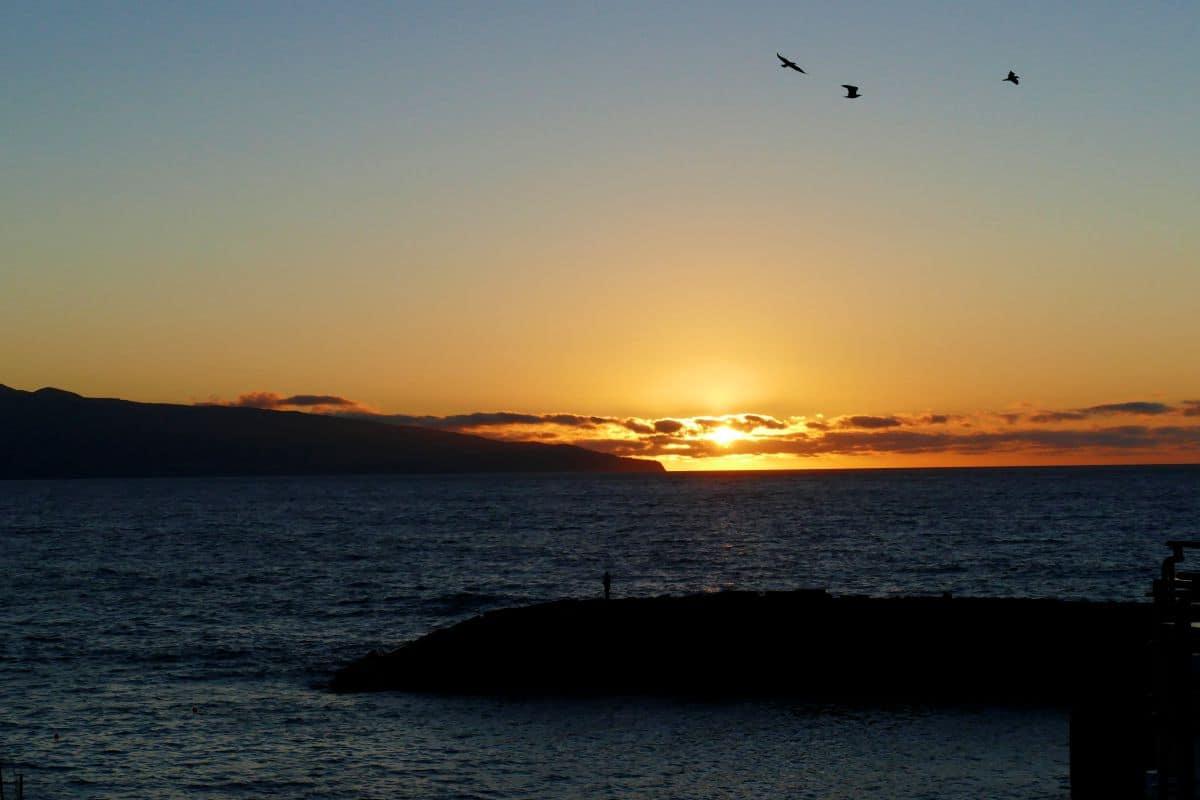 coucher de soleil - Ribeira Grande (Açores)
