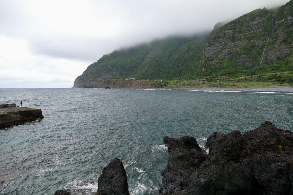 les falaises de Faja Grande (Flores - Açores)