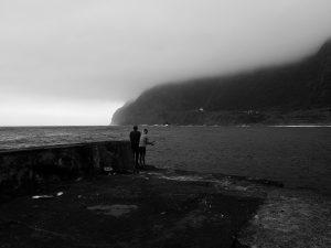 pêcheurs à Faja Grande (Flores - Acçores)