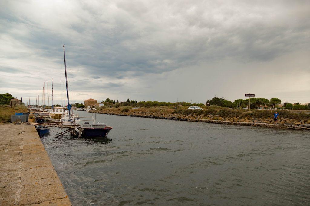 bout du canal du midi - juste avant l'étang de Thau