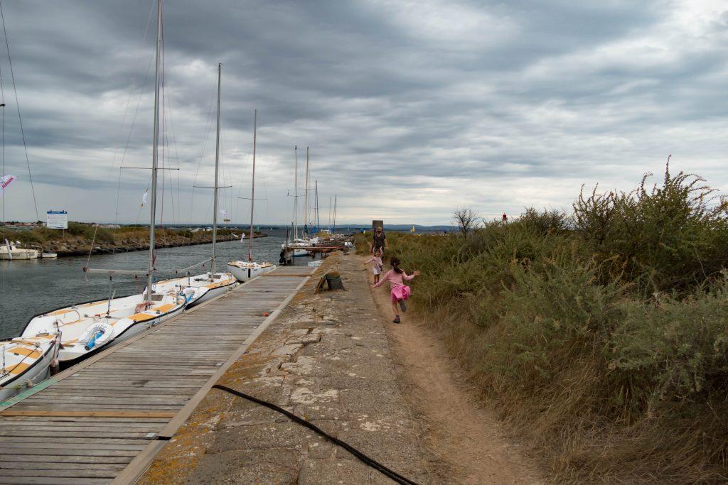 rives du canal du midi aux Onglous