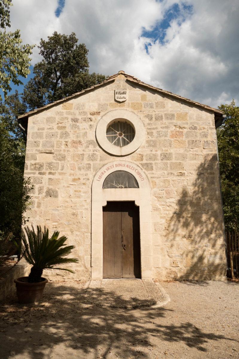 chapelle sur la presqu'île de Maguelone -Hérault