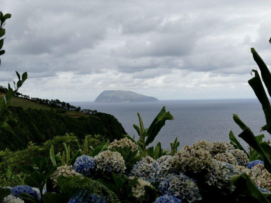 depuis Corvo Ponta Ruiva - Flores (Açores)