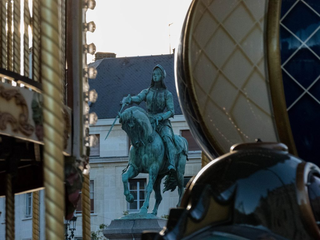Statue de Jeanne d'arc Orléans