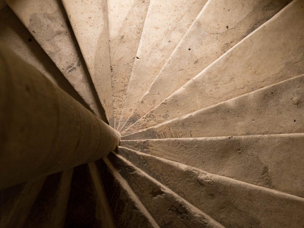 escalier du Manoir - PNR Perche
