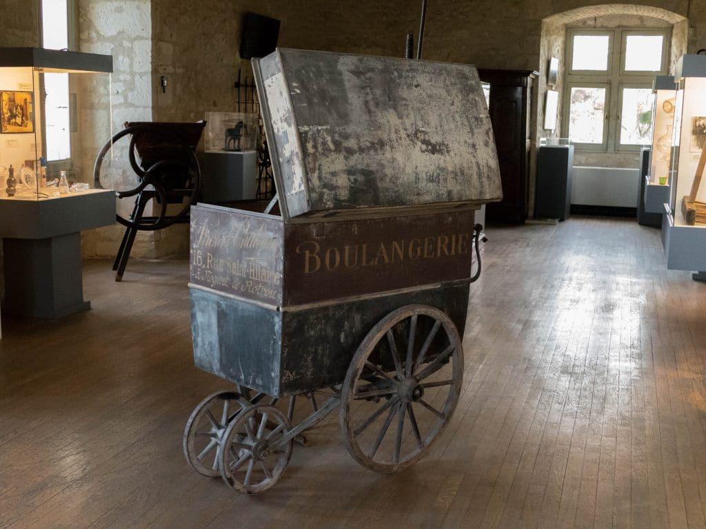 boulangerie mobile au château musée Saint-Jean de Nogent le Rotrou