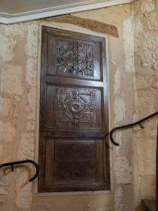 porte dans le château musée Saint-Jean de Nogent le Rotrou