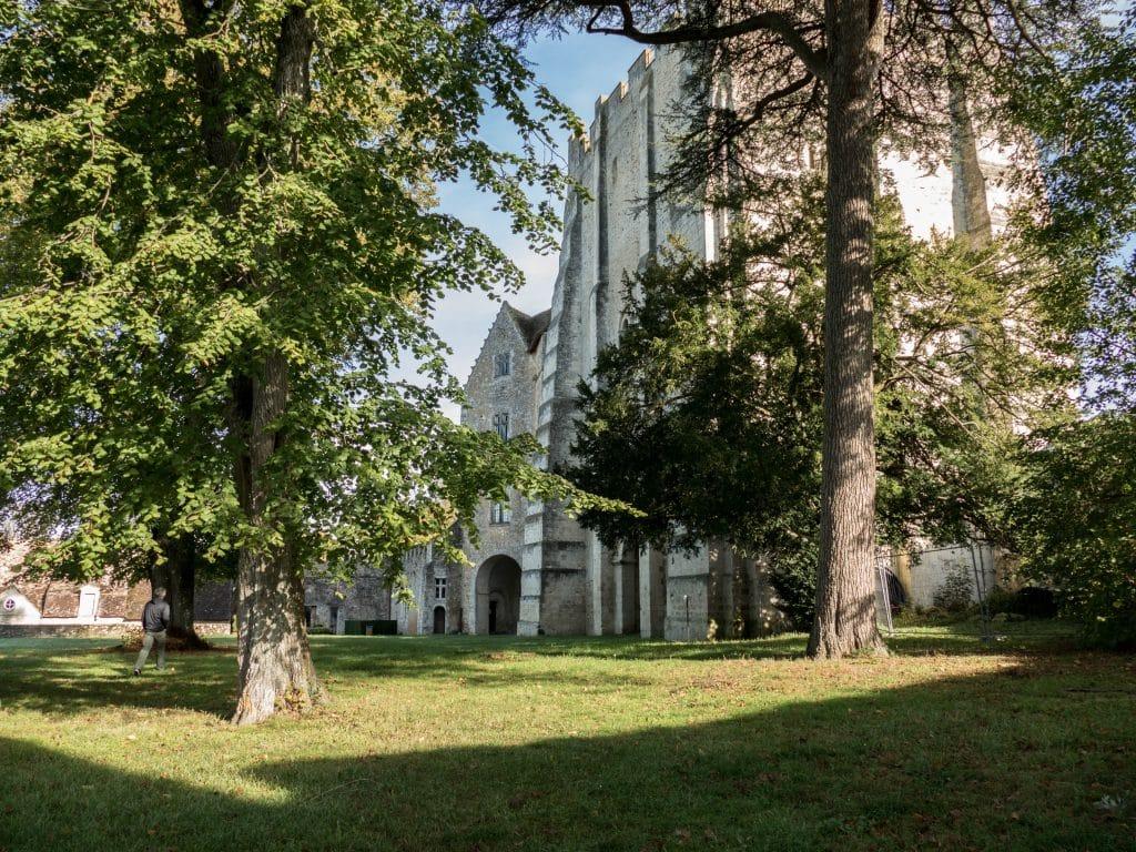 jardin du château musée Saint-Jean de Nogent le Rotrou