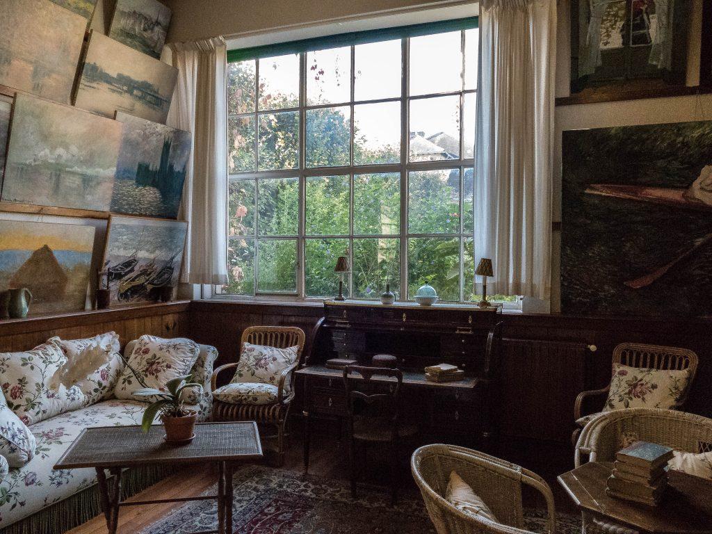 bureau-atelier de Claude Monet à Giverny