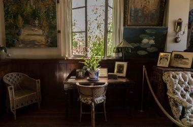 bureau de Claude Monet à Giverny