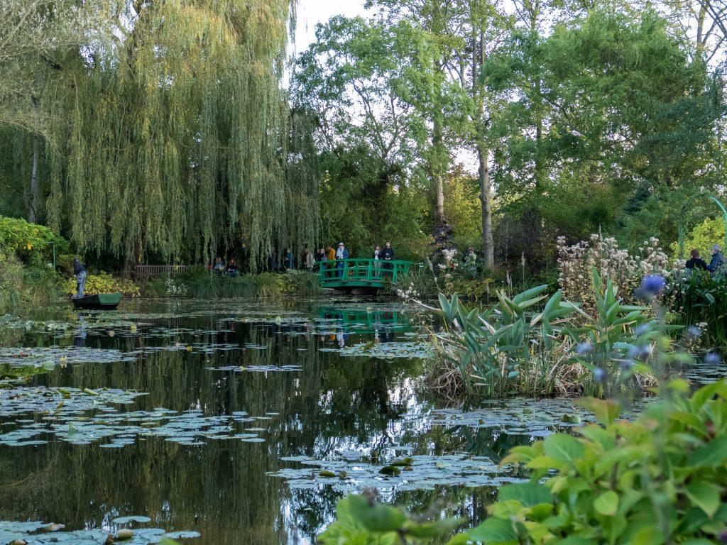 Etang dans le jardin de Claude Monet - Giverny