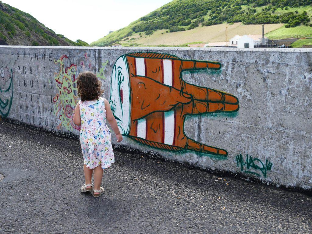 street art à Horta (Faial - Açores)