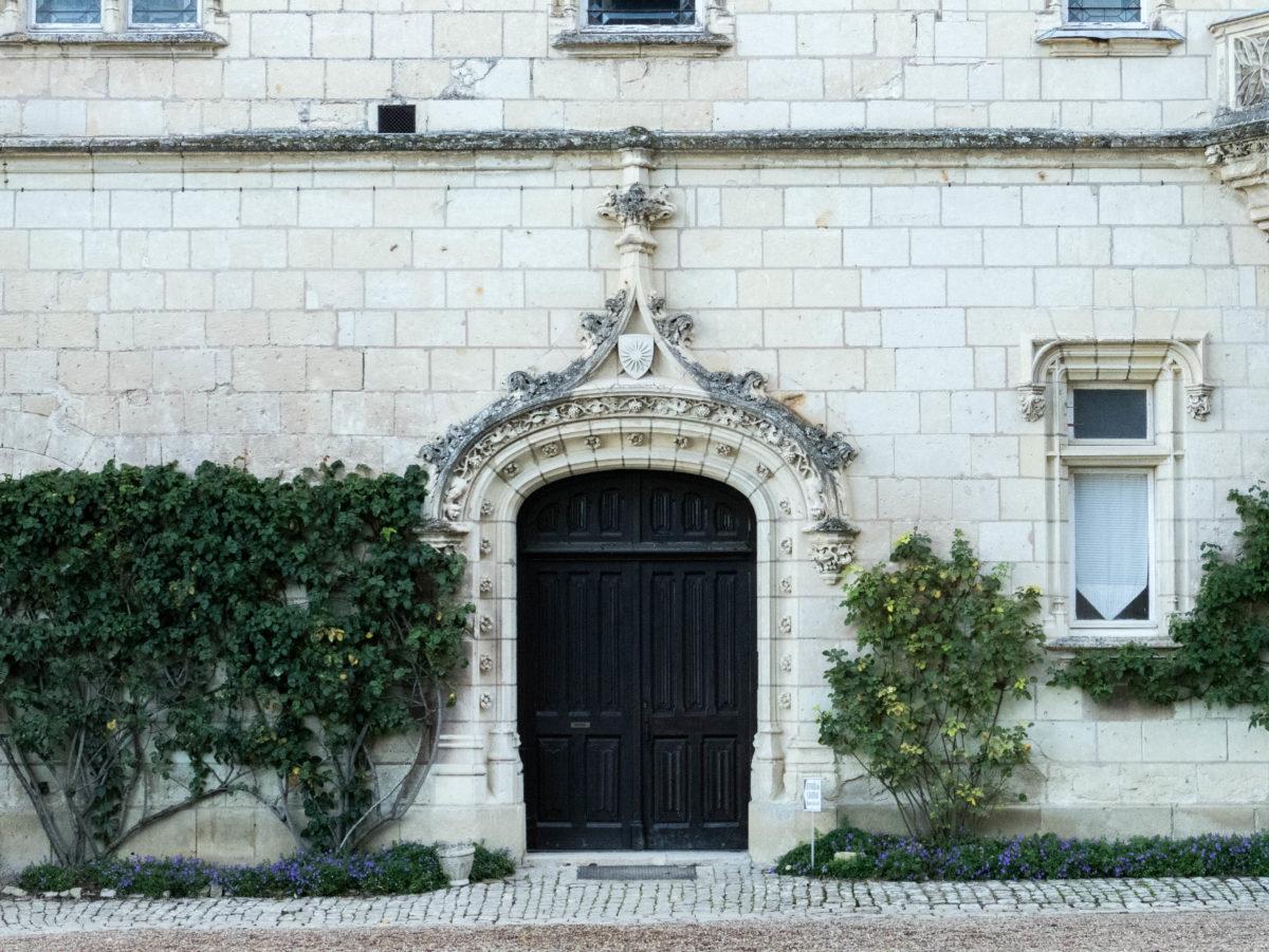 porte - château d'Ussé à Rigny-Ussé