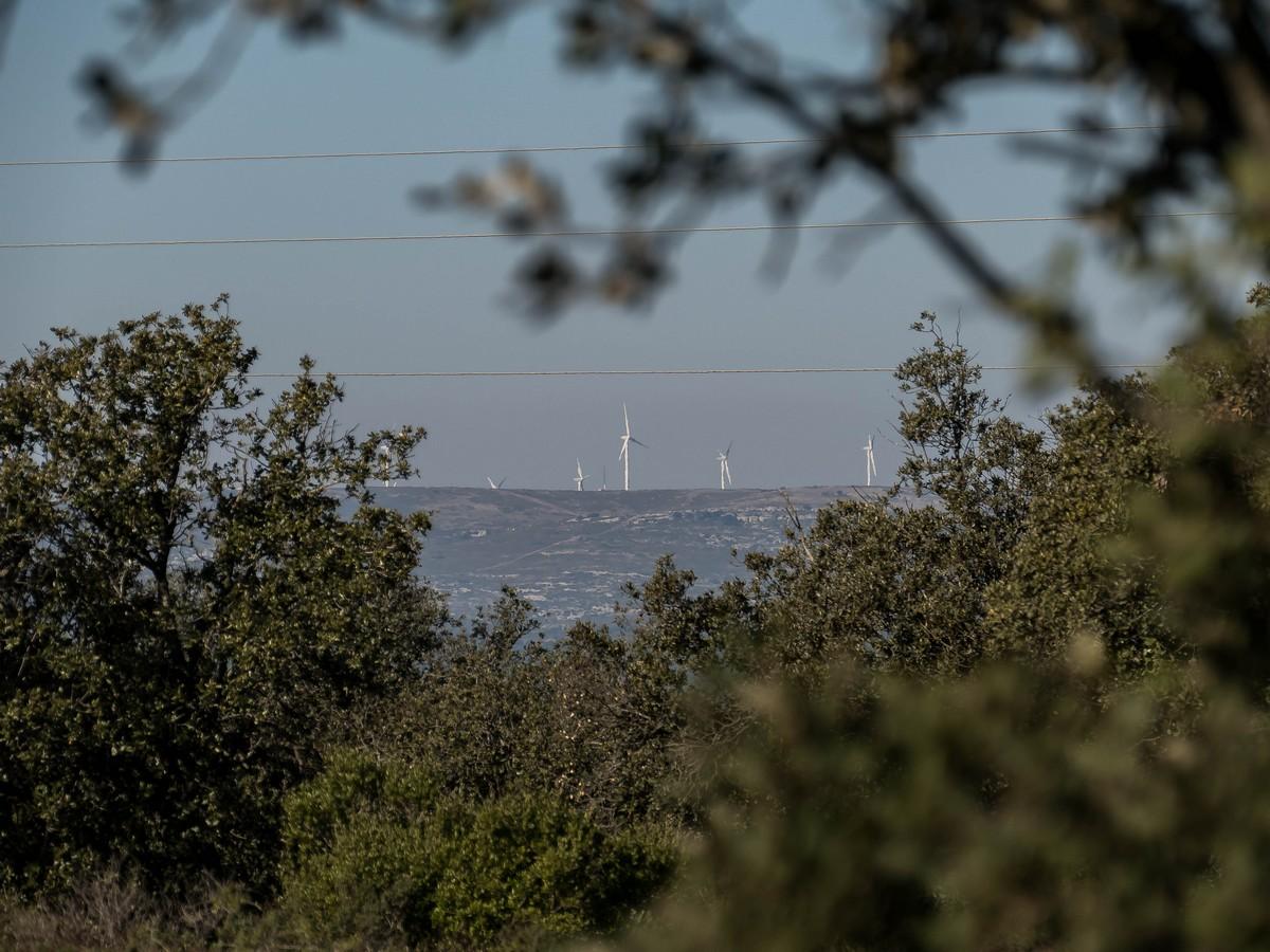 éolienne - randonnée cit'art de Vic La Gardiole