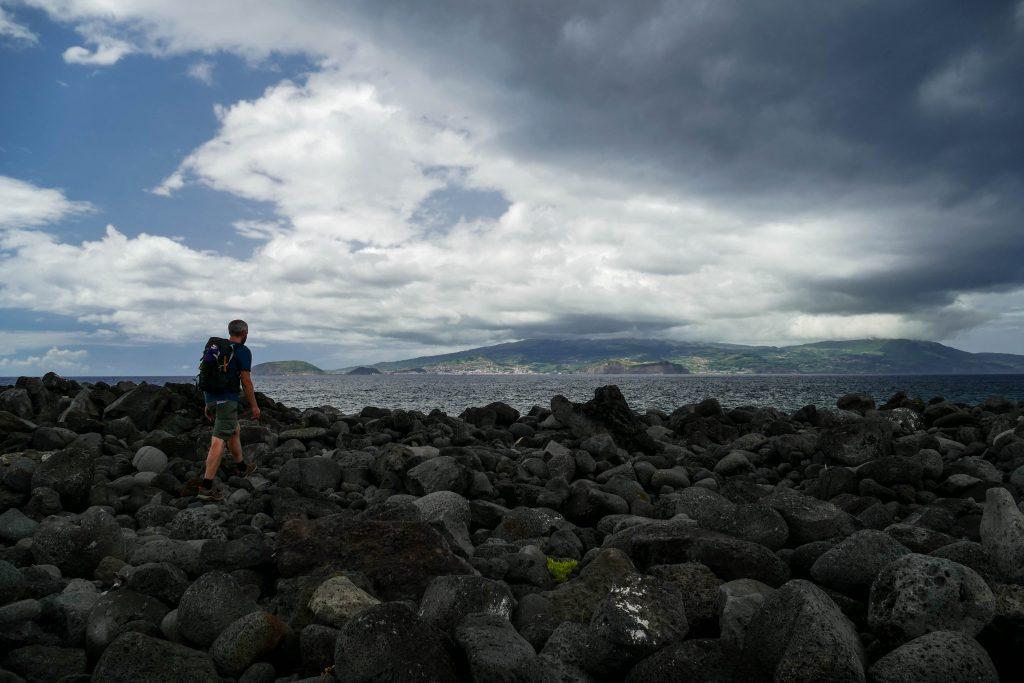 côte de Criacao Velha sur Pico aux Açores