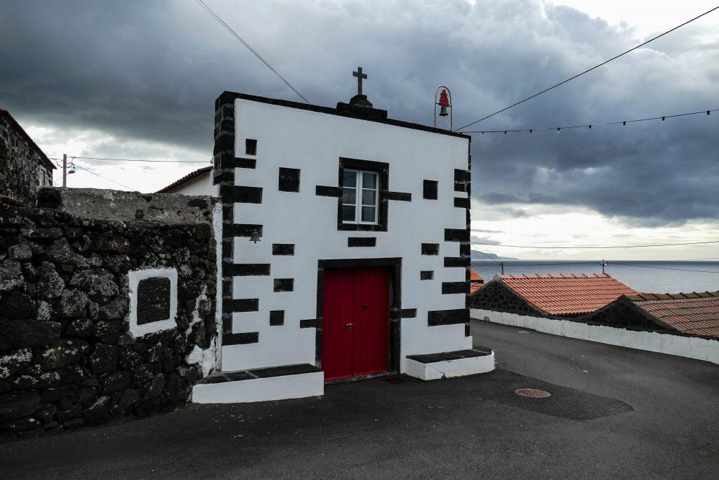 Chapelle de Cachorro sur Pico aux Açores