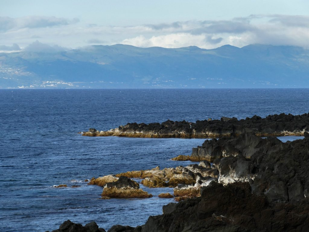 côte entre Lajido et Arcos sur Pico aux Açores