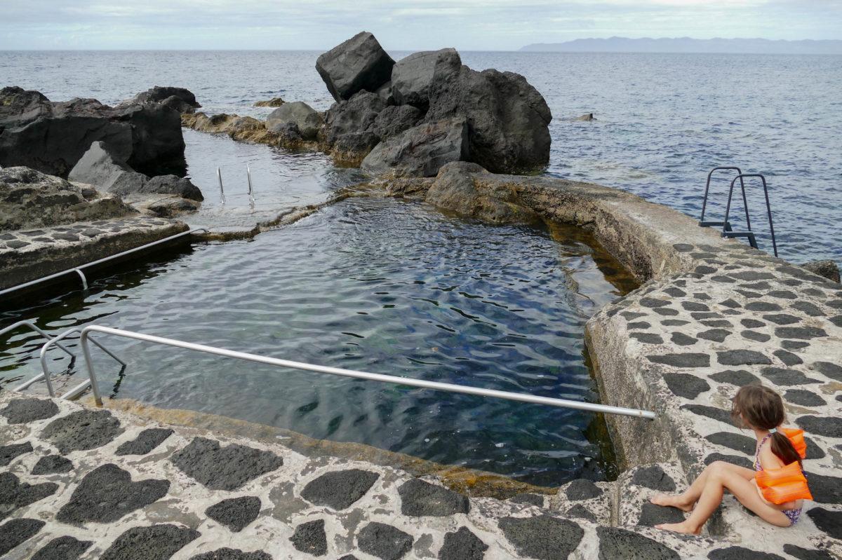piscine d'Arcos sur Pico aux Açores