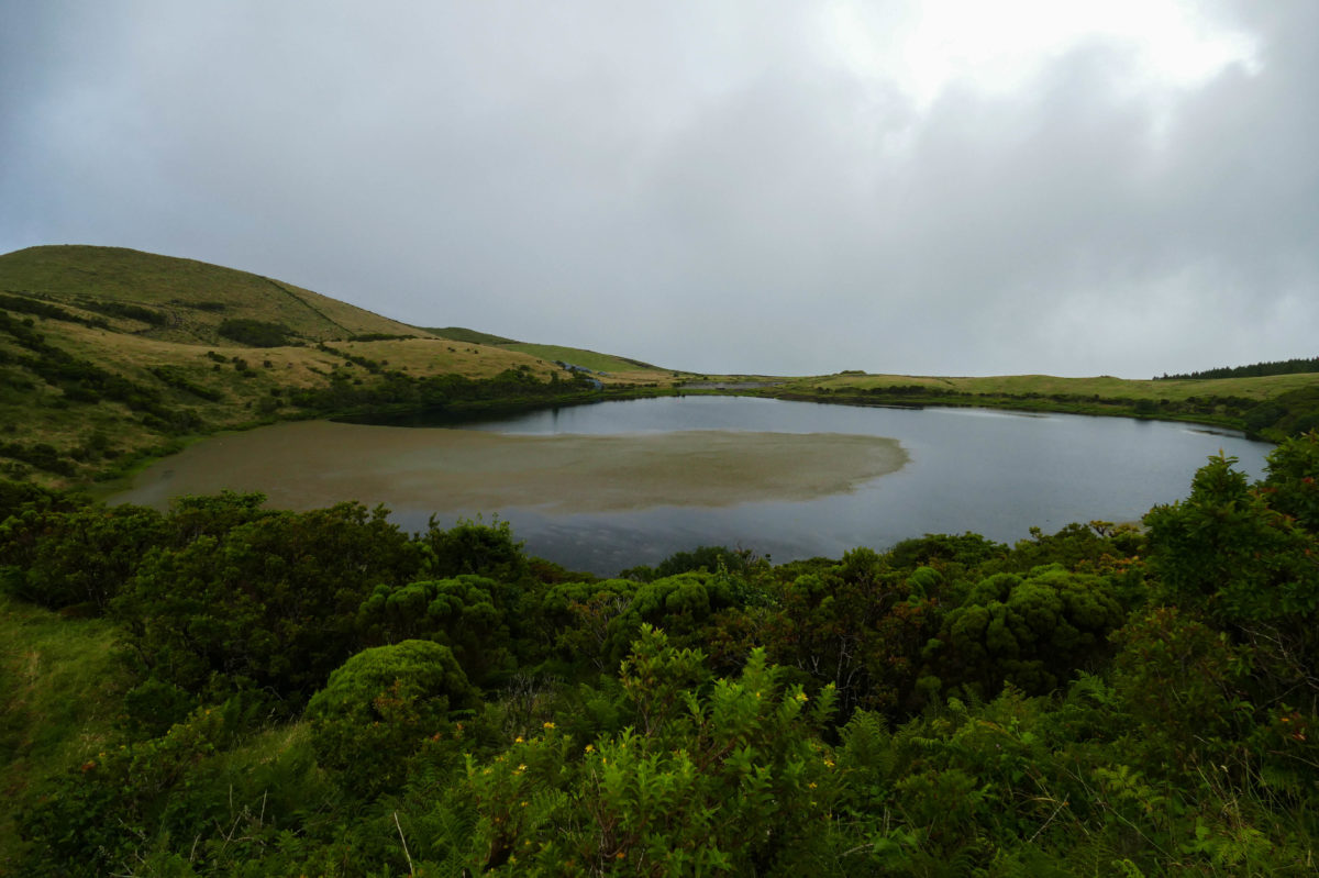 lac sur Pico aux Açores