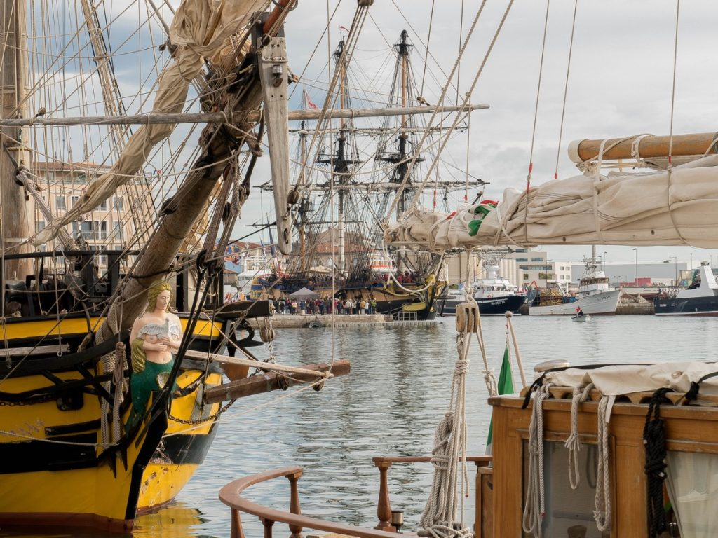 grands voiliers escale à sète