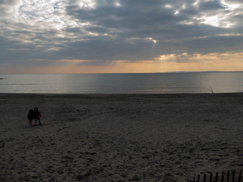 plage de la Tamarissière