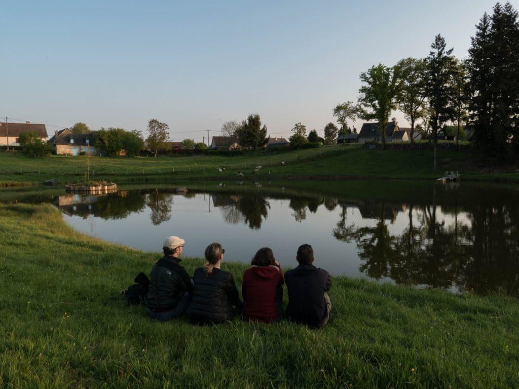 l'étang du gîte la Clef des Champs - Corrèze