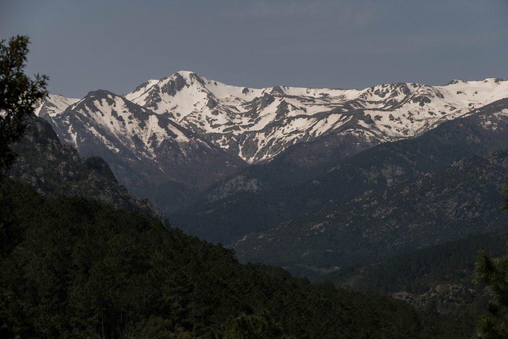 les montagnes au dessus de Ghisoni