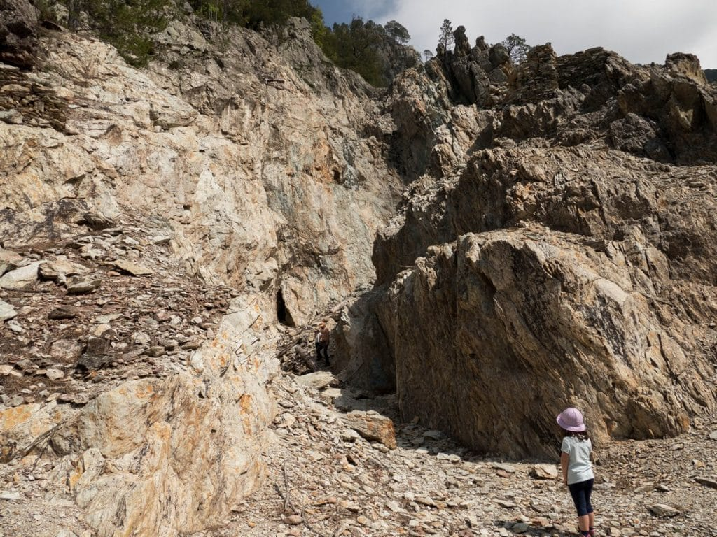 vecchia mina - Ghisoni