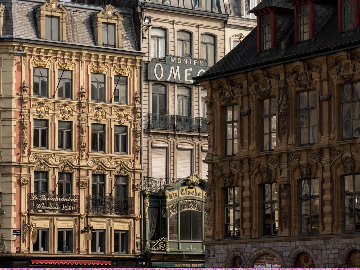 façades de Lille