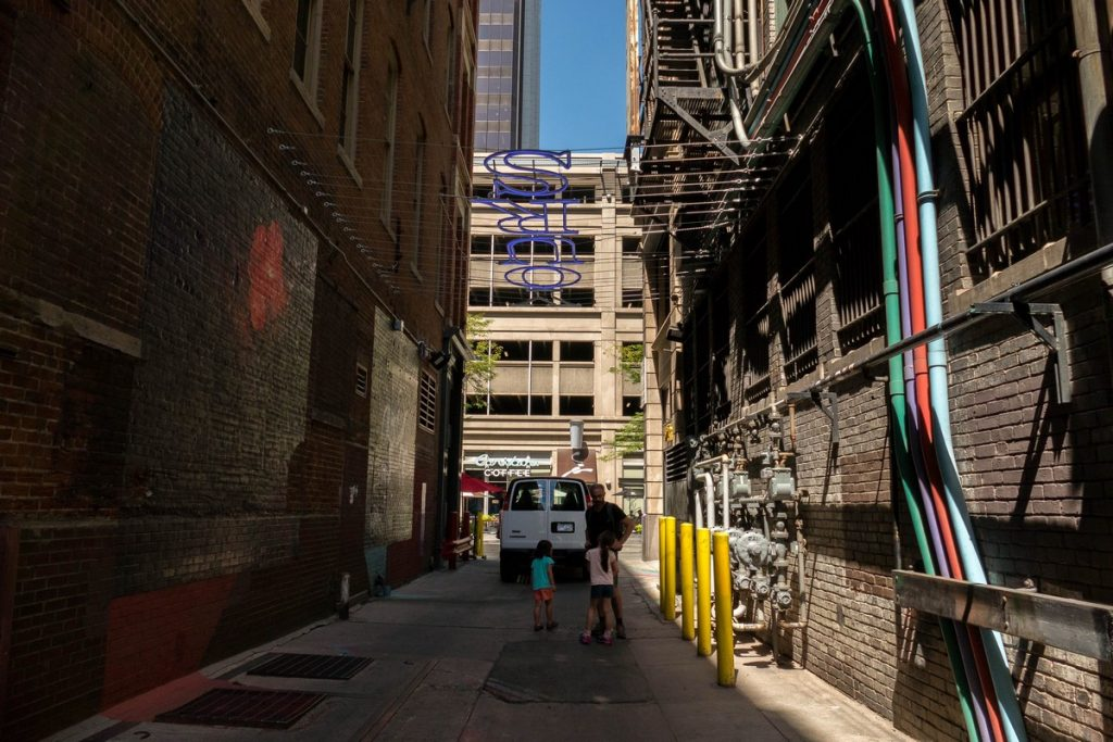 street art dans le downtown de Denver