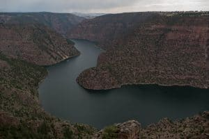Le Red Canyon - Flaming Gorge